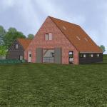 Boerderij en schuur, Amerongen