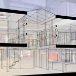 Transformatie bedrijfshal naar woningen, Haarlem